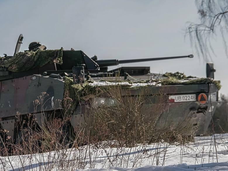 W szkoleniu uczestniczyli żołnierze plutonu dowodzonego przez podporucznik Weronikę Milczarczyk