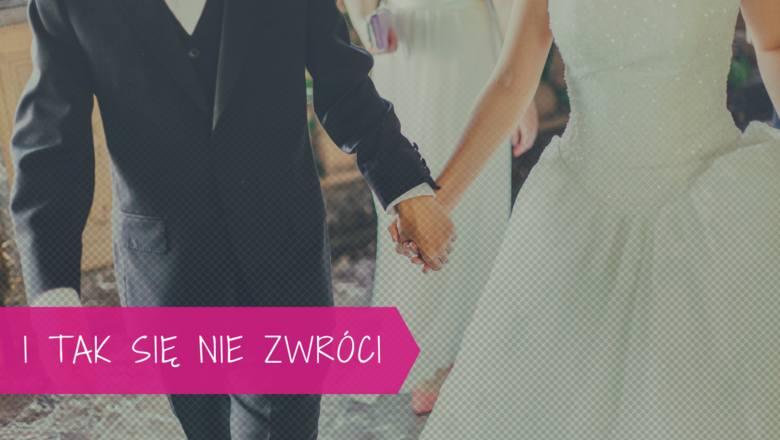 Wielu narzeczonych nie waha się wydawać na organizację hucznego wesela kilkudziesięciu tysięcy złotych, będąc przekonanymi, że poniesione wydatki zwrócą