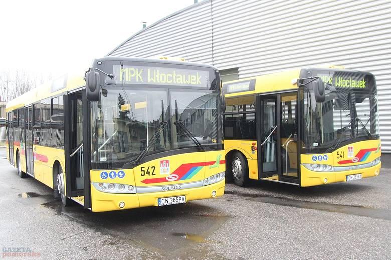 Nowe solarisy wyjeżdżają na ulice Włocławka Dwa nowe autobusy solarisy urbino 12 już od dziś kursują na liniach Miejskiego Przedsiębiorstwa Komunikacyjnego