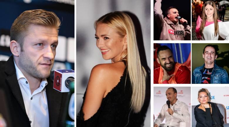 Co ich łączy? Ludzie sportu, aktorzy, celebryci i politycy [ZDJĘCIA]