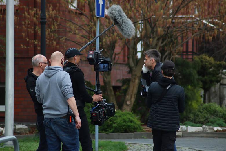 """W ten weekend trwały końcowe zdjęcia do ostatniego sezonu serialu """"Diagnoza"""". Aktorzy pojawili się w Rybniku by zagrać sceny do finałowych odcinków"""