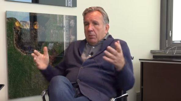 Michał Sołowow podczas wywiadu dla Biznes Misja