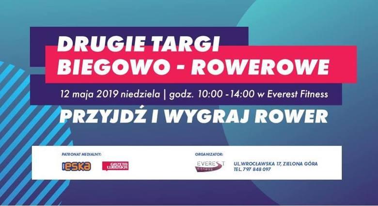 Zielonogórskie Targi Biegowo-Rowerowe już 12 maja. Czekać będą na Was specjaliści. Nie przegapcie tego wydarzenia!