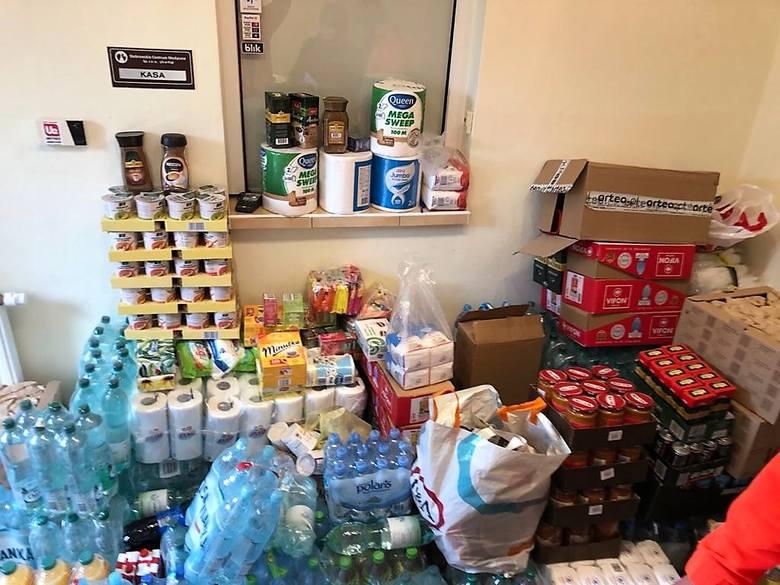 Kibice Odry Opole przekazali dary dla  szpitala w Kup