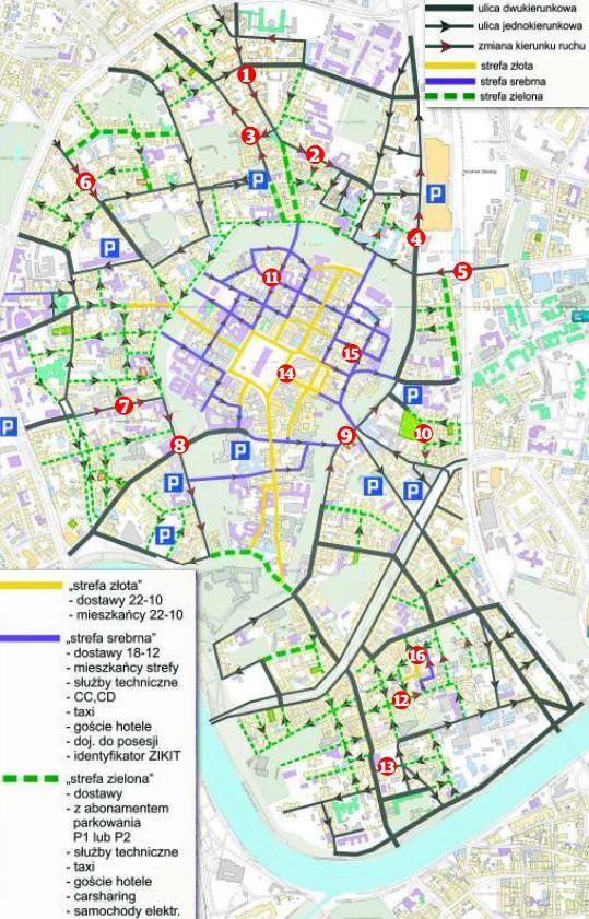 Krakow Do Centrum Nadciaga Rewolucja Komunikacyjna Mapa