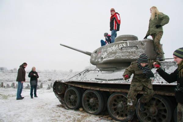 Rajd Karabanowa - znowu zdobyli bunkry