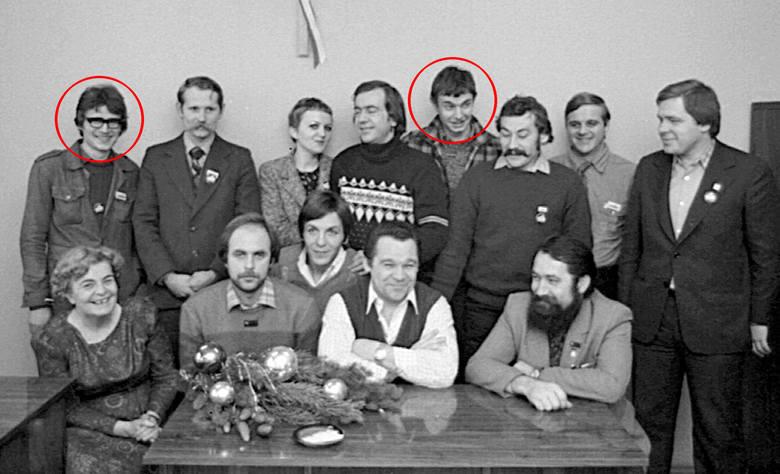 W zbiorach izby jest m.in. to zdjęcie. Inicjatorom nie udało się rozpoznać dwóch działaczy. Może czytelnicy pomogą?