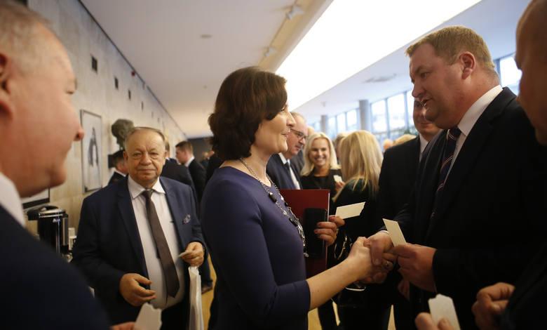 Spotkanie zorganizowane przez marszałka Władysława Ortyla zaczęło się od wspomnienia prezydenta Gdańska Pawła Adamowicza i modlitwy w jego intencji.