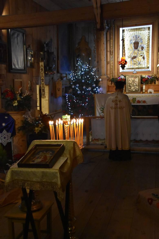 Prawosławna Wigilia. Zobacz, jak wierni ze Wschodu świętowali w Zakopanem [ZDJĘCIA]