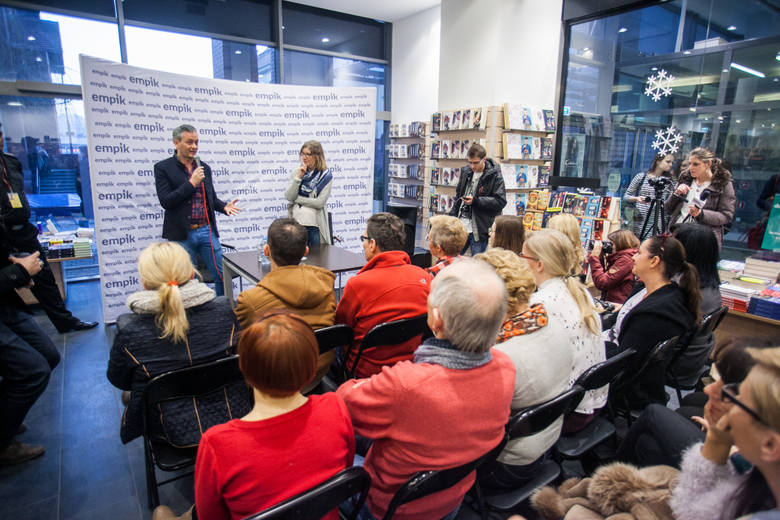 Spotkanie z Robertem Biedroniem w Bydgoszczy.
