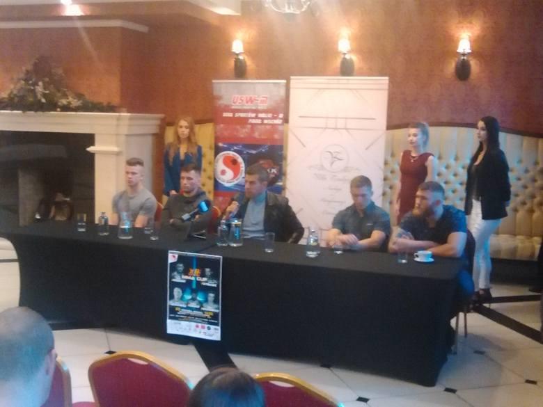 Konferencja prasowa przed XIII Galą MMA CUP Białystok 2019