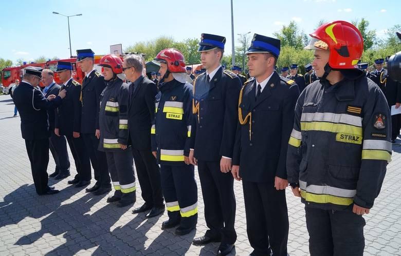 """Wyróżnieni medalami """"Za zasługi dla pożarnictwa"""""""