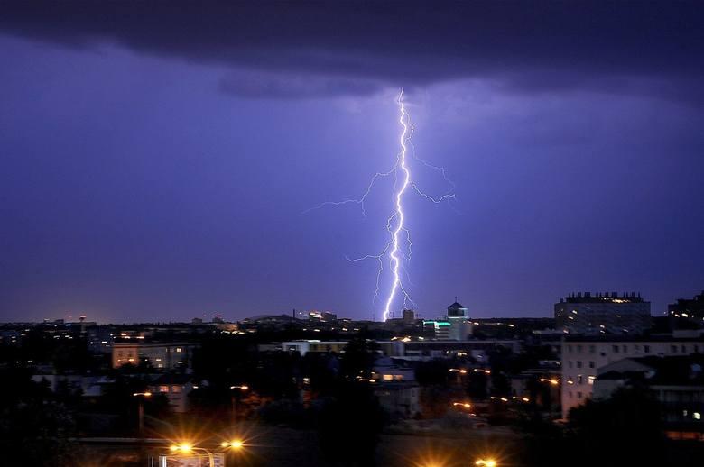 We wtorek w godzinach popołudniowych w naszym regionie mogą wystąpić burze.