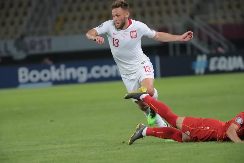 Maciej Rybus (Lokomotiw Moskwa, 30 lat) - 4Tomasz Kędziora nie zaliczy meczu z Macedonią do udanych. Czas na szansę dla Maciej Rybusa, człowieka z naturalną