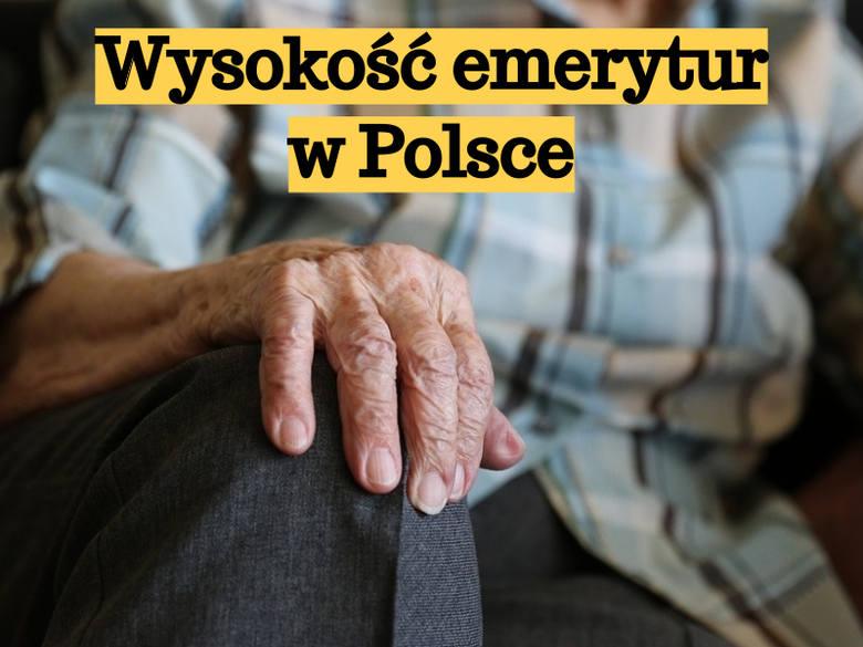 Ile osób dostanie więcej niż 1000 zł?   Przedstawiamy zestawienie najwyższych emerytur wypłacanych w Polsce. Informacje pochodzą z portalu Money.pl.