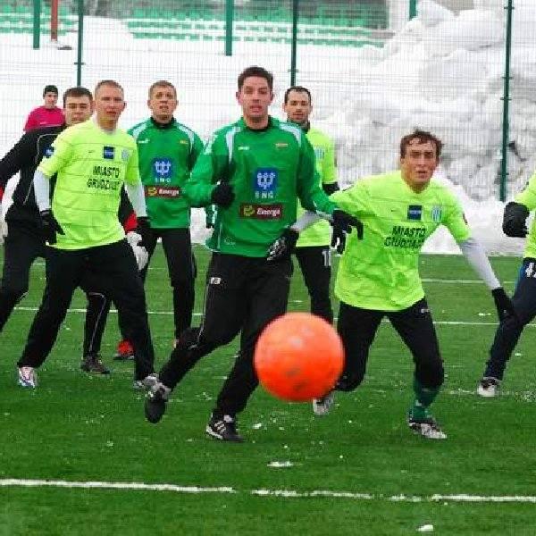 Po przegranym sparingu z Lechia Gdańsk (migawka na zdjęciu) tym razem grudziądzanie pokonali zespół z Rumii.
