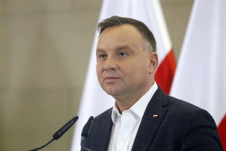"""Prezydent Andrzej Duda tłumaczy powody ułaskawienia: """"Sprawa dotyczyła jedynie zakazu zbliżania się"""""""