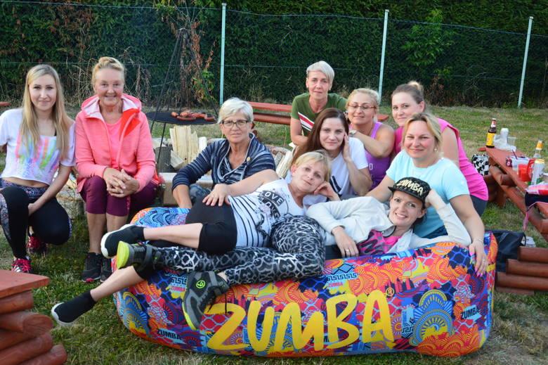 Taka ekipa ćwiczy Zumbę w Górzycy