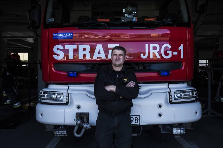 Strażacy z Komendy Miejskiej Państwowej Straży Pożarnej w swojej jednostce są zawsze gotowi do akcji