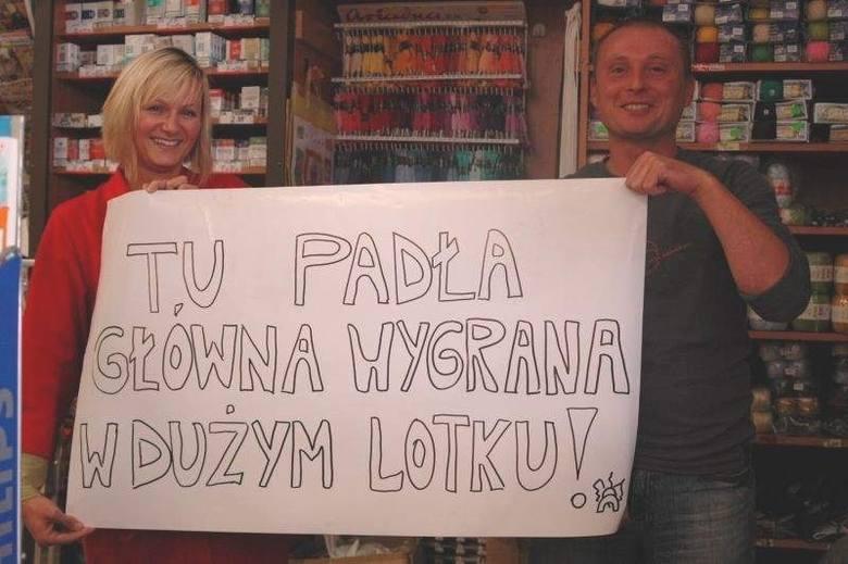 W 2009 roku blisko 4,7 mln złotych wygrał gracz w Kluczborku. 1,8 mln złotych to wygrana, która padła w tym mieście w 2007 roku.