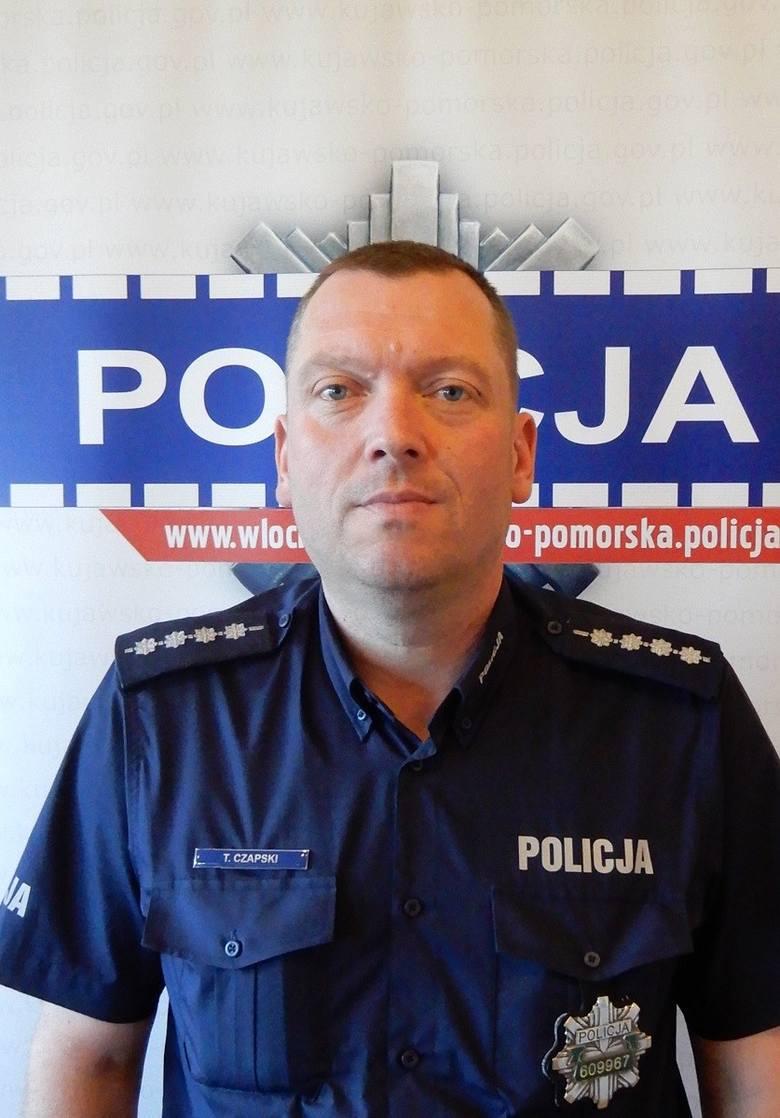 Policjant z Włocławka był czujny na urlopie. Zobaczył złodzieja, złapał i przekazał kolegom na służbie.