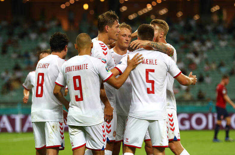 Euro 2020. Przewidywane składy na mecz Anglia - Dania