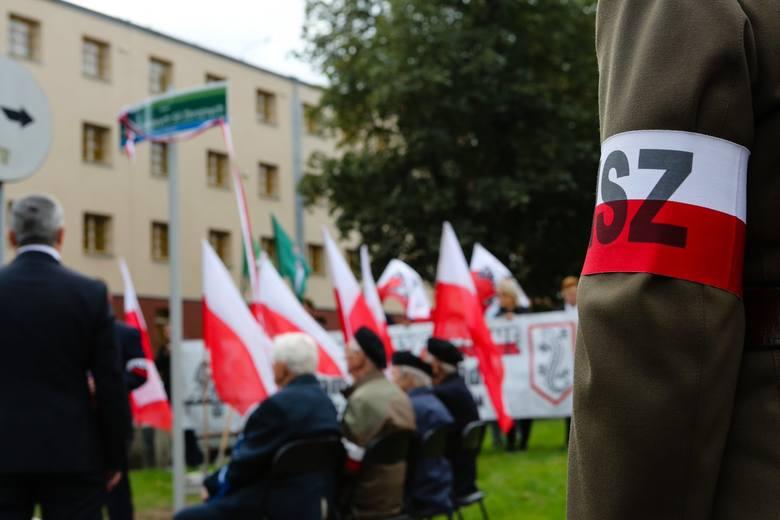 Skwer im. Żołnierzy Narodowych Sił Zbrojnych w Szczecinie [ZDJĘCIA]