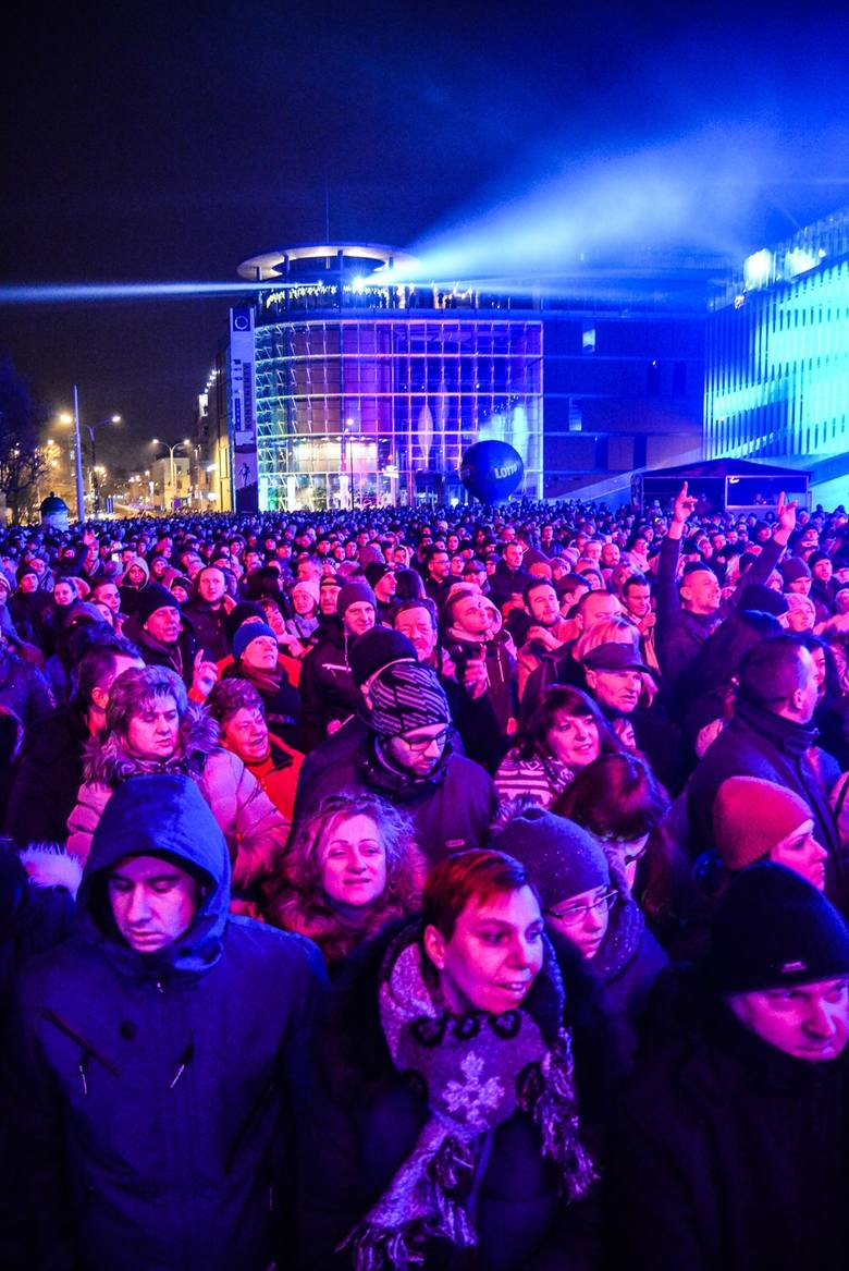 Sylwester 2017. Lublin powitał Nowy Rok (WIDEO, ZDJĘCIA)