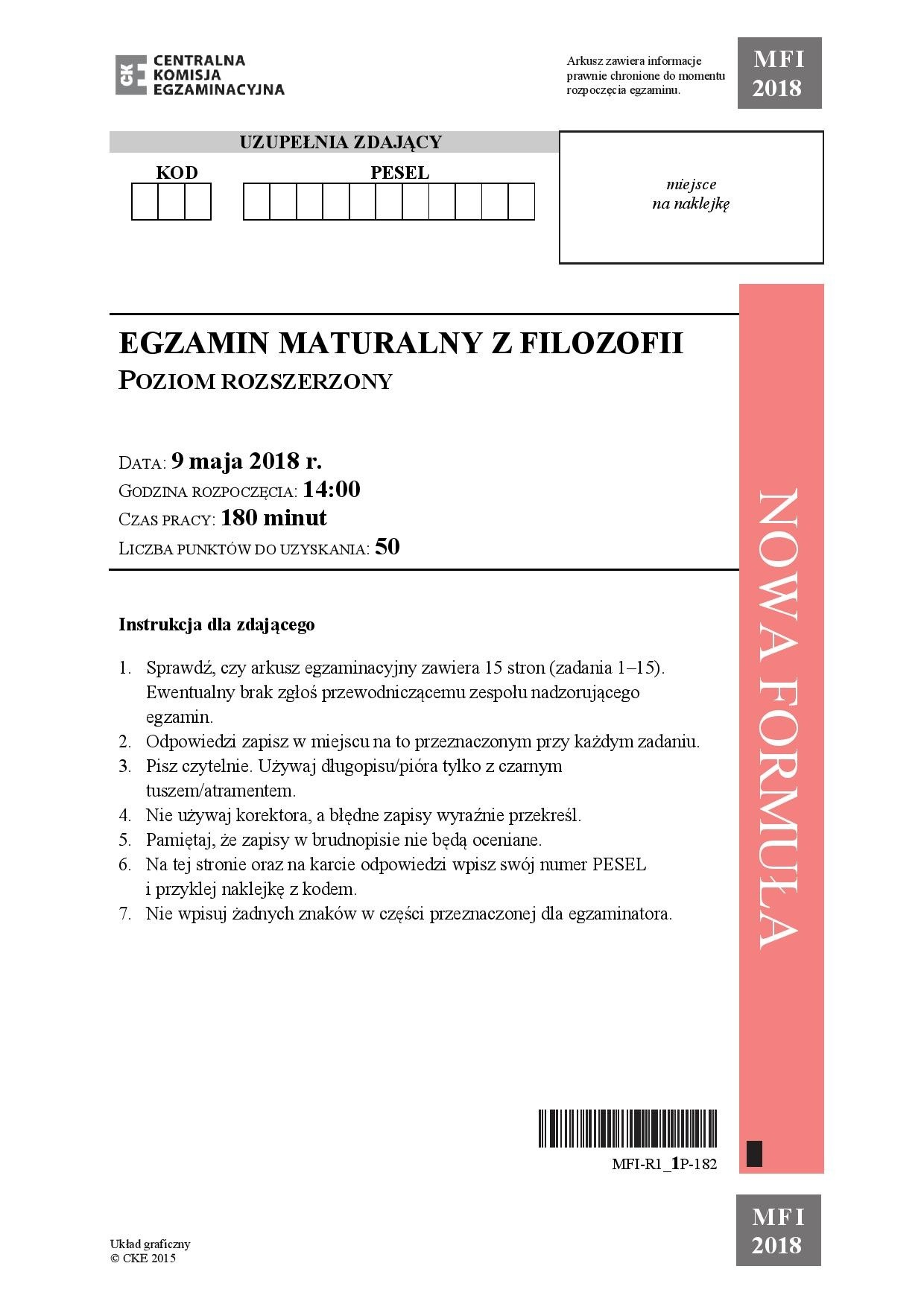 matura rozszerzona matematyka 2010