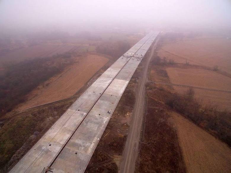 Droga S5 pod Wrocławiem [FILM Z DRONA, NAJNOWSZE ZDJĘCIA]