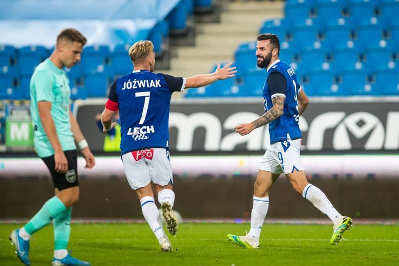 Lech Poznań pokonał 3:0 łotewską Valmierę i jest w II rundzie Ligi Europy. Kolejorz dominował, miał ogromną przewagę i wygrał bez większych problemów.