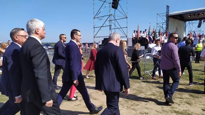 Premier Mateusz Morawiecki w Kolnie na II Ogólnopolskim Święcie Wdzięczni Polskiej Wsi