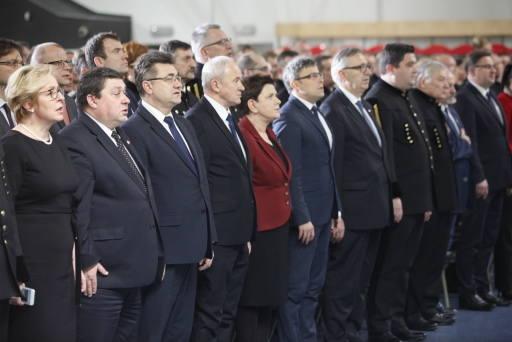 Premier Beata Szydło wzięła udział w uroczystościach barbórkowych w Rybniku