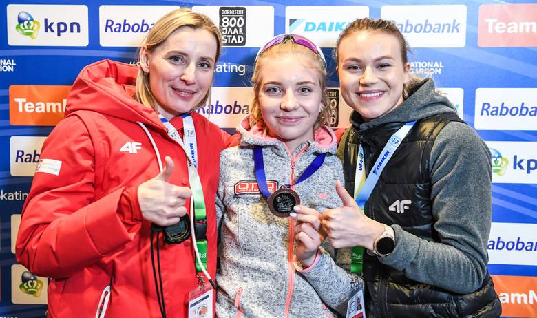Trener Urszula Kamińska jest zadowolona z medali Kamili Stormowskiej i Natalii Maliszewskiej w Pucharze Świata w Dordrechcie