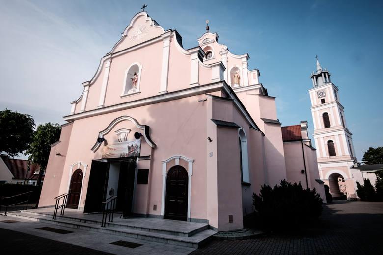 Kościół w Chodzieży, w którym Szymon był ministrantem.