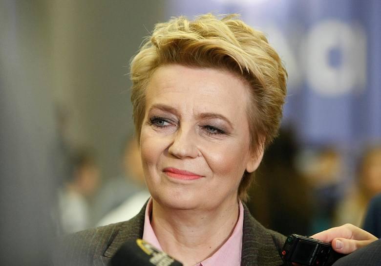 Trzymamy za to kciuki, by tak się stało, to jest bardzo ważne dla wszystkich nas - mówi prezydent Łodzi Hanna Zdanowska w wyborczym spocie Krzysztofa