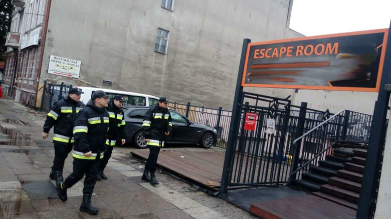 Kontrola zaczęła się w sobotę, 5 stycznia, chwilę po godz. 12.00. Do lokalu w centrum miasta weszło kilku strażaków z gorzowskiej komendy.Funkcjonariusze