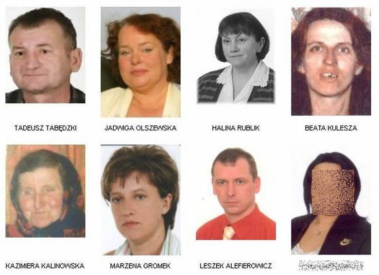 To tylko niektórzy z zaginionych mieszkańców województwa podlaskiego