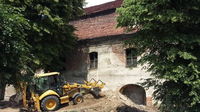 Ruszyły prace przy dawnym kościele ewangelickim