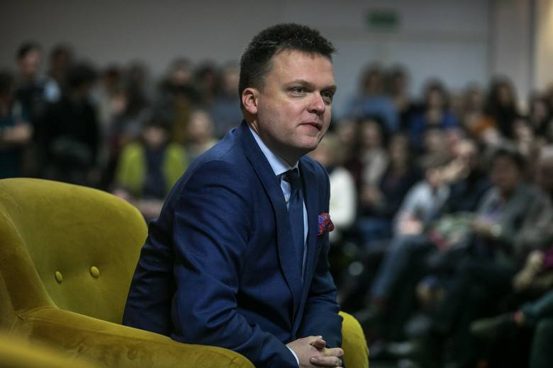 Kandydat na prezydenta RP Szymon Hołownia spotka się w piątek z mieszkańcami Kołobrzegu i Koszalina