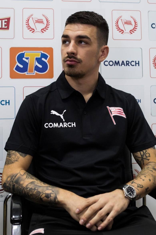 Sergiu Hanca zagra w Cracovii z nr 4