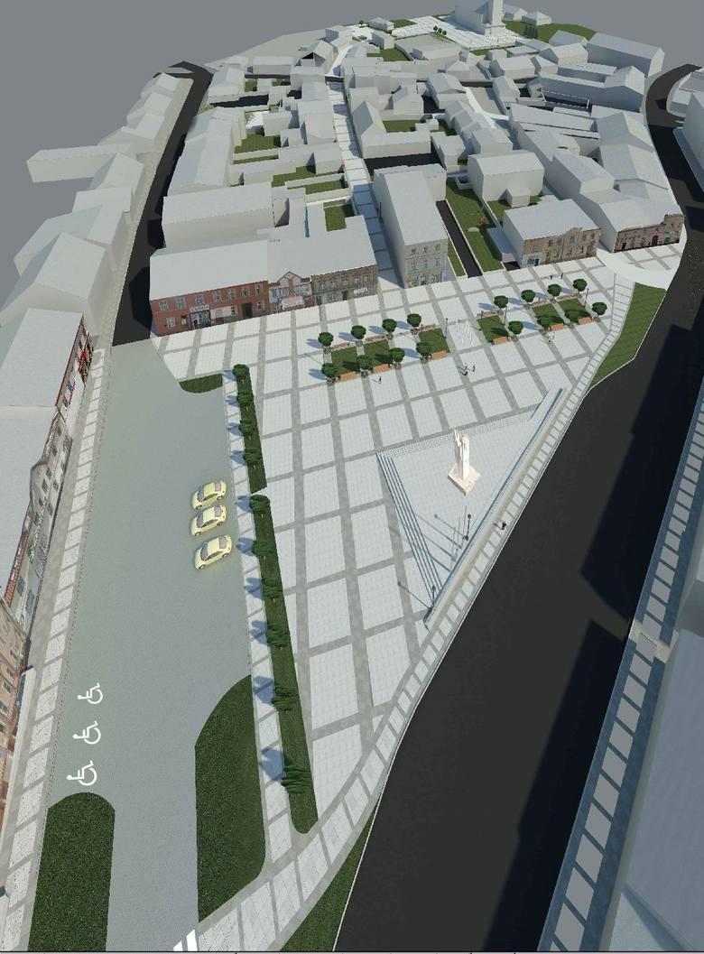 Tak będzie wyglądać centrum miasta po rewitalizacji