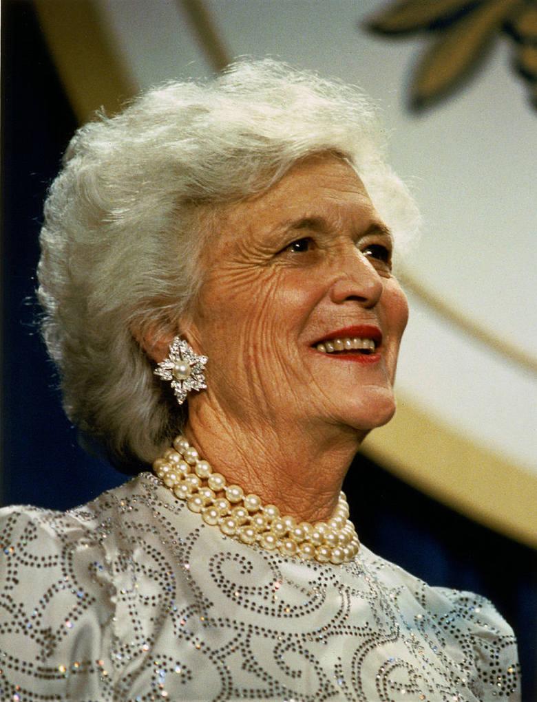 Barbara Bush zmarła w wieku 92 lat.