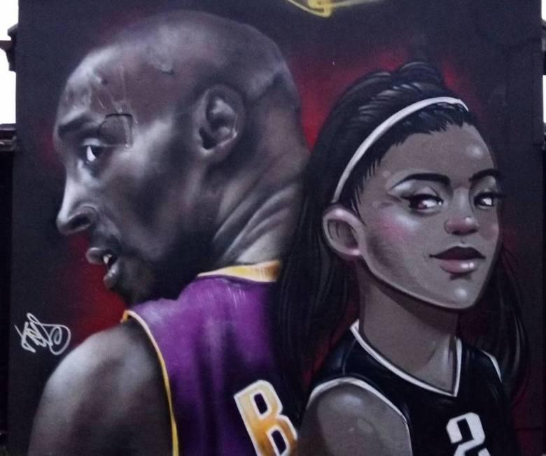 W Starogardzie powstał pierwszy w Polsce mural upamiętniający tragicznie zmarłego Kobego Bryanta. Wykonało go kilku artystów, ale sylwetkę koszykarza