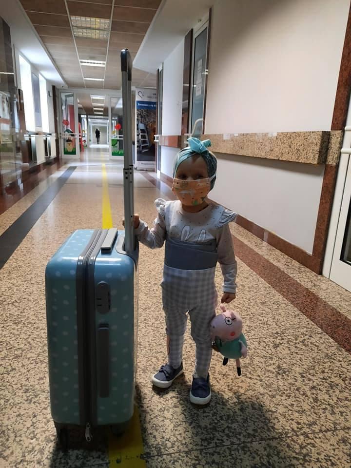 Hania Zajega potrzebuje 300 tys. zł na walkę z chorobą
