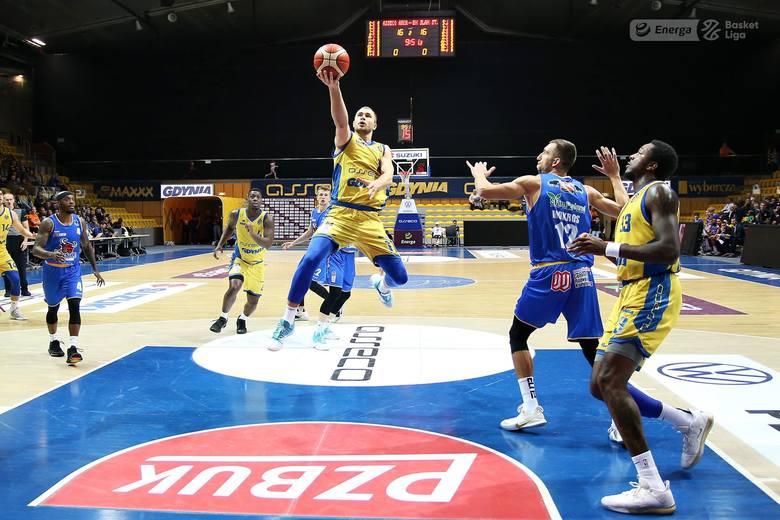 Tak koszykarze Bm Slam Stali cieszyli się z sensacyjnej wygranej w Gdyni