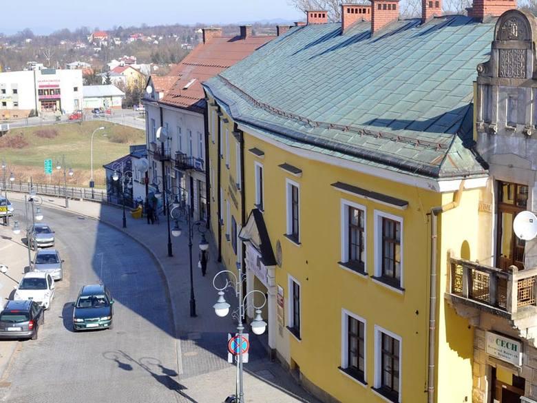 Dach Muzeum Podkarpackiego w Krośnie wymaga remontu