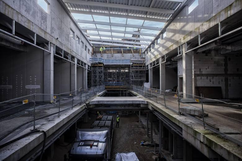 Galeria Libero w Katowicach. Budowa trwa. Otwarcie planowane jest na przełomie sierpnia i września