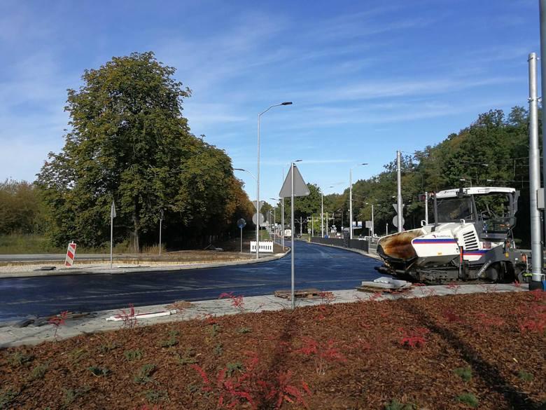 Przebudowa ulicy Arkońskiej w Szczecinie. Co słychać na placu budowy? [ZDJĘCIA]