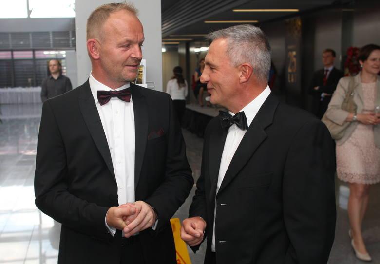 Kolporter hucznie obchodził swoje 25 urodzinyGrzegorz Fibakiewicz, wiceprezes Kolportera i Krzysztof Klicki przed uroczystością.